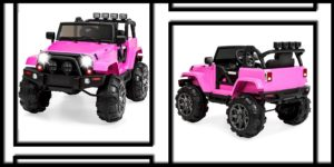 Best Choice Products Kids 12V Ride On Truck wRemote ControlPink-min