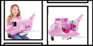 Barbie Pink Passport Glamour Jet Play Set