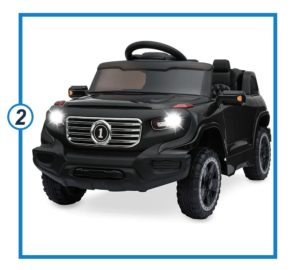 Best Choice Products Kids 6V Ride On Truck-min