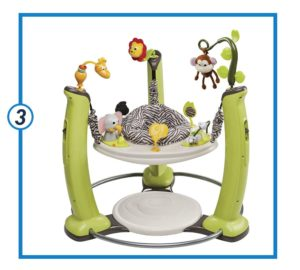 Evenflo ExerSaucer Jump and Learn Jumper-min