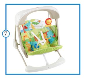 Fisher-Price Baby swing-The Best Baby Swing for Small Spaces-min