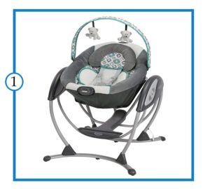 Graco Glider LX  Bets Baby Swing for Space Saving-min (1)-min