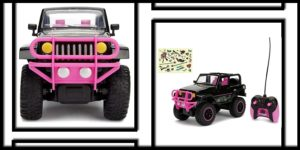 Jada Toys Girlmazing Jeep Wrangler RC