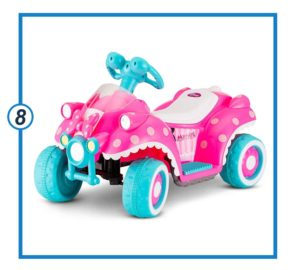 Kid Trax Ride-On Quad, Battery-Powered Toy, 6V-min
