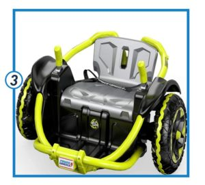 Power Wheels Wild Thing, Green-min