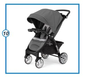 Quick-Fold Chicco Stroller-min