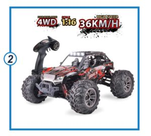 Remote Control toddler Car Off-Road Vehicle-min