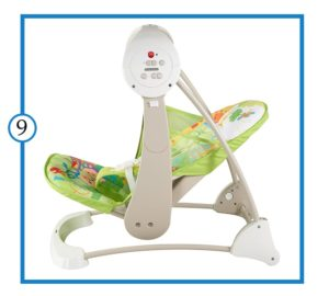 The Best Baby Swing for Reflux -Fisher-Price Baby Swing-min