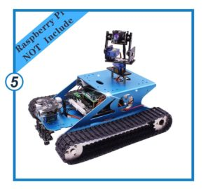 Yahboom Professional Raspberry Pi Tank Smart Robot-min