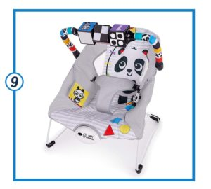 Baby Einstein More to See High Contrast Bouncer with Vibrating Seat-min