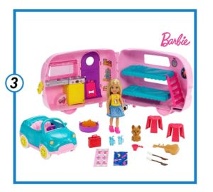 Barbie Camper Chelsea Club Playset with Chelsea Doll-min