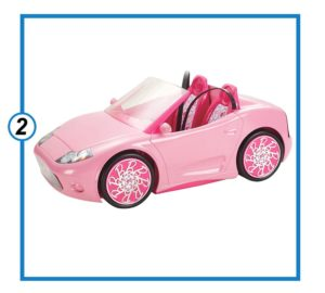 Barbie Glam Convertible-min