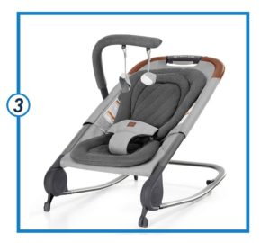 Born free KOVA Baby Bouncer - Baby Rocker with Two Modes.-min