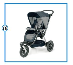Chicco Activ3 Air Jogging Stroller - atmos, Grey-min