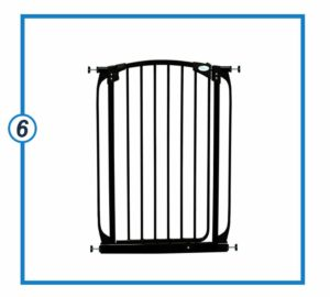 Dreambaby Chelsea Extra Tall and Wide Auto Close Security Gate-min