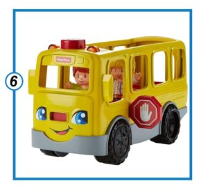 Fisher-Price Little People Sit with Me School Bus-min