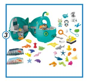 Fisher-Price Octonauts Gup-A Megapack [Amazon Exclusive]-min