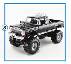 Greenlight Monster Truck - Black with 48 Tires - New Tooling-min