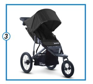 Joovy Zoom 360 Ultralight Jogging Stroller, Black-minJoovy Zoom 360 Ultralight Jogging Stroller, Black-min