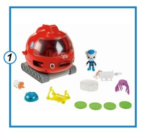 Octonauts Launch and Rescue Gup-X Vehicle-min