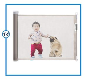 Retractable Baby Gate Support Three Directions tall baby gate-min