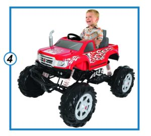 Rollplay 24 Volt Monster Truck Ride On Toy-min