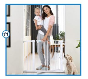 Safety Baby Gate, Auto Close Luxury Extra Tall&Wide Child Gate-min