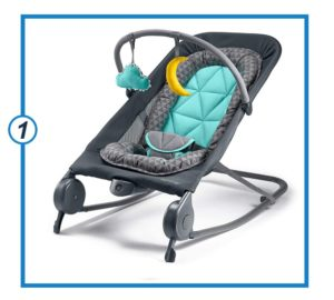 Summer 2-in-1 Bouncer & Rocker Duo - Baby Bouncer & Baby Rocker-min