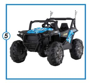 Uenjoy 12V Electric Ride on Cars, Realistic Off-Road UTV-min