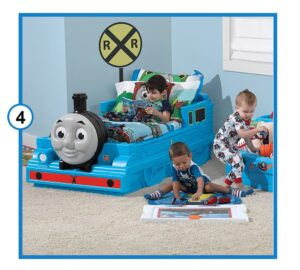Step2 Thomas The Tank Engine Toddler Bed-min