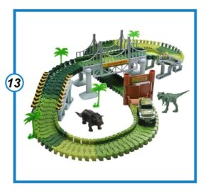Dinosaur Train Track Toy Set-min