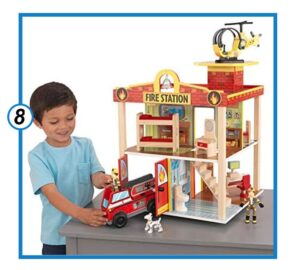 Kid Kraft Fire Station Set-min