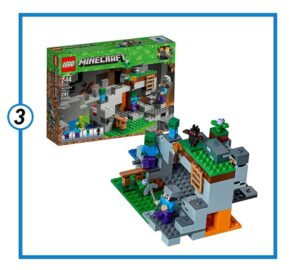 LEGO Minecraft The Zombie Cave Building Kit-min