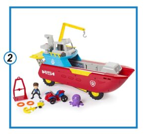 Nickelodeon Sea Patroller Transforming Vehicle-min